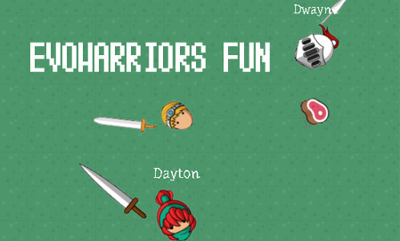 EvoWarriors Fun game